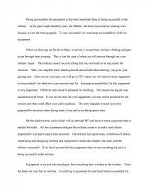 army accountability essay free