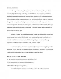 Knowledge Management  Free Essays Essay Preview Knowledge Management Health Care Essay Topics also Pay Someone To Take Your Online Class  Research Papers Examples Essays