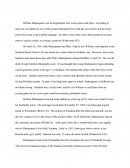 Shakespeare Term Paper
