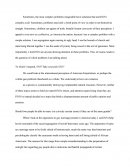 Homosexual Marriage (Pro) Persuavive Essay