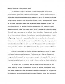To Be Or Not Paraphrase Book Report I Thi A Dagger Soliloquy