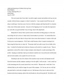 Applying Reasoning To Problem Solving Essay