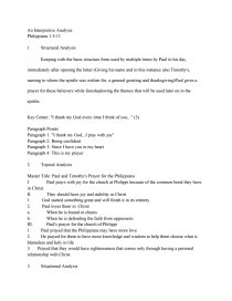 How To Write A Good Essay For High School Essay Preview An Interpretive Analysis Of Philippians  Ap English Essays also Topics For An Essay Paper An Interpretive Analysis Of Philippians   Research Paper Sample Essay Topics For High School