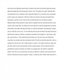 The sixth sense theme essay