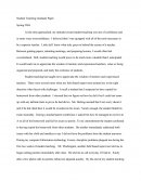 Student Teaching Paper