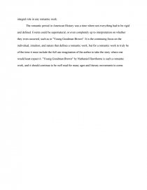 Classification Essay Thesis Statement Zoom Zoom Zoom Thesis Essay Example also Essays On Science And Religion Romanticism In Young Goodman Brown  Free Essays Essay Paper Writing Services