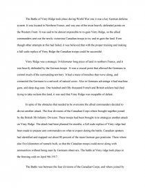 Important Of English Language Essay Essay Preview Vimy Ridge Photosynthesis Essay also Essay On Healthcare Vimy Ridge  Research Paper English Essay Writing Help