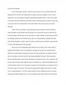 Short Narrative Essay (Avalanche)