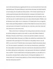 Musics influence essay help me write science resume
