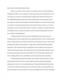 Musics influence essay top term paper writers for hire for school
