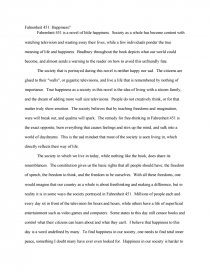fahrenheit happiness college essays zoom zoom zoom