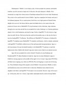 "Research Paper-Shakespeare's ""Othello"""
