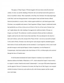 Great Gatsby Essay Thesis Essay Preview Crusades Zoom Zoom Zoom Zoom Zoom  Example Thesis Statements For Essays also Compare And Contrast Essay High School And College Crusades  College Essays Mental Health Essay