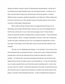 How To Write A High School Essay Essay Preview Review Of The Hot Zone Zoom Zoom Zoom Zoom Good Thesis Statements For Essays also Business Essays Samples Review Of The Hot Zone  Research Paper Small Essays In English