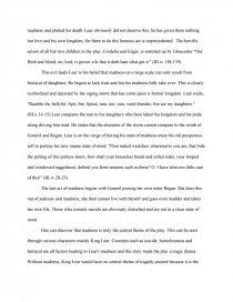 king lear essay lear s descent into madness and his subsequent zoom zoom zoom