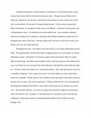 Animal Dreams Honors Essay