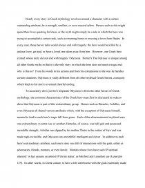 odysseus as a tragic hero book report zoom