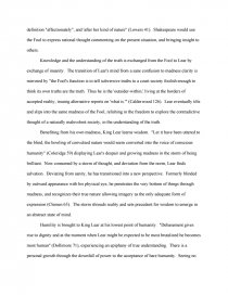 Business Law Essay Questions Essay Preview Madness In King Lear Zoom Zoom Zoom Zoom Mental Health Essays also Compare And Contrast Essay Examples For High School Madness In King Lear  College Essays Science Argumentative Essay Topics