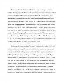 High School Personal Statement Essay Examples Zoom Zoom Zoom Zoom  Proposal Essay Ideas also Thesis Statements Examples For Argumentative Essays How Does Shakespeare Present Love And Marriage In Much Ado About  Essays On English Language