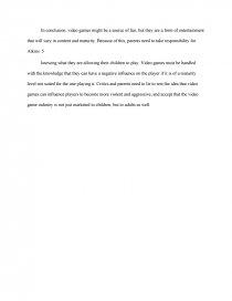 video game violence   college essays essay preview video game violence zoom zoom zoom zoom zoom