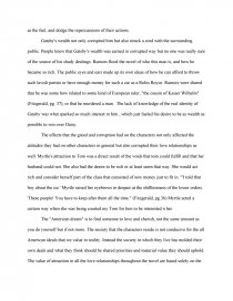 greed for money essay