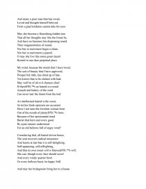 a prayer for my daughter by william butler yeats