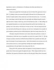 social reform essay
