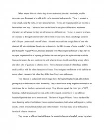 fences troy maxson essay
