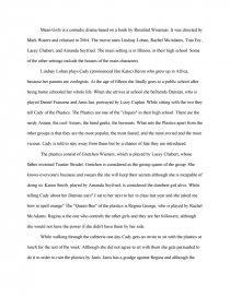 Mean Girls- Film Analysis - Essays