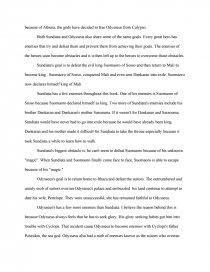 sundiata essay