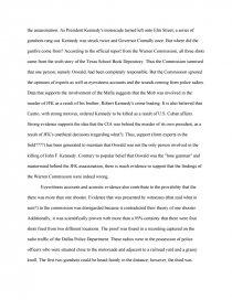 Essay on jfk conspiracy esl dissertation hypothesis ghostwriter websites ca