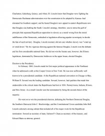 Research Essay Thesis Statement Example Essay Preview Abraham Lincoln Life And Liberty Zoom Zoom Zoom Zoom  Zoom  Critical Essay Thesis Statement also High School English Essay Topics Abraham Lincoln Life And Liberty  Research Paper Topic English Essay