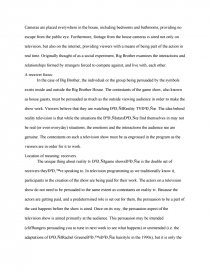 Thesis Statement Examples Essays Essay Preview Big Brother Semiotic Analysis Zoom Zoom  Model English Essays also Examples Of Argumentative Thesis Statements For Essays Big Brother Semiotic Analysis  Term Papers 1984 Essay Thesis
