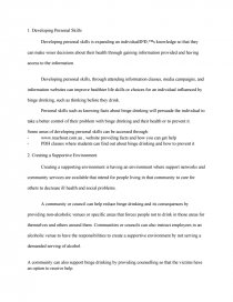Role Of Media Essay How Ottawa Charter Can Be Applied To Binge Drinking College Essays Zoom Best Scholarship Essays Samples also Great College Essays Examples Essay On Binge Drinking Binge Drinking Essay Questions Power Point  Writing A Conclusion For A Persuasive Essay