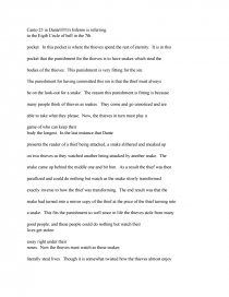 Dantes Inferno Canto   Research Paper Essay Preview Dantes Inferno Canto  Buy Tesis Online also Sample Of Proposal Essay  Essay Examples For High School