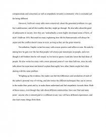 Yellow Wallpaper Analysis Essay Zoom Zoom Zoom Cause And Effect Essay Topics For High School also Thesis Statements For Persuasive Essays Compare And Contrast Essaystereotypes  Research Paper An Essay On Newspaper