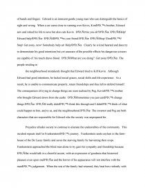Friendship Essay In English Essay Preview Frankenstein And Edward Scissorhands Zoom Zoom Zoom Zoom   Controversial Essay Topics For Research Paper also Write My Report Com Frankenstein And Edward Scissorhands  Essays Essay On How To Start A Business