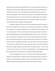 Good Science Essay Topics Essay Preview Family Values Zoom Zoom Zoom Sample Thesis Essay also Compare And Contrast Essay Topics For High School Students Family Values  Research Paper Example Of Essay Writing In English