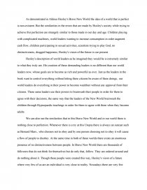 perfect world essay