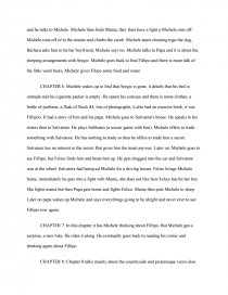 im not scared creative essay
