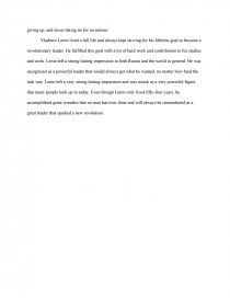 Business Essay Topics Zoom Zoom Zoom Zoom An Essay On English Language also Examples Of Argumentative Thesis Statements For Essays The Life And Impact Of Vladimir Lenin Essay  Research Paper Thesis Statement For Comparison Essay