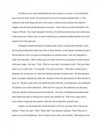 alienation in the grapes of wrath college essays zoom zoom zoom