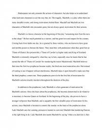 motivation in macbeth book report similar essays