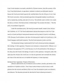 racial inequality in education essay