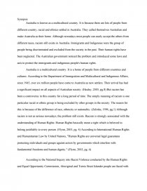 racism in essays zoom