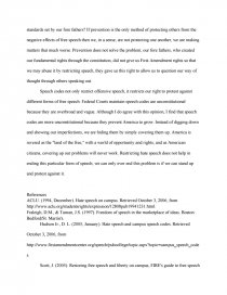 hate speech on college campuses essays