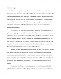 landfill by joyce carol oates essays zoom