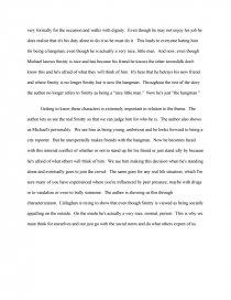 two fishermen morley callaghan essay