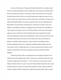 huey newton essays zoom