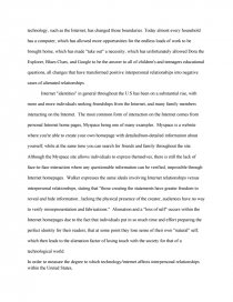 Science Development Essay Essay Preview Internet Effect On Interpersonal Relationship Zoom Zoom  Zoom Example Of A Good Thesis Statement For An Essay also Thesis Statement For A Persuasive Essay Internet Effect On Interpersonal Relationship  Research Paper Essay Papers For Sale